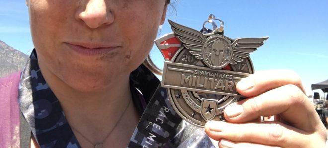Spartan Race Medal