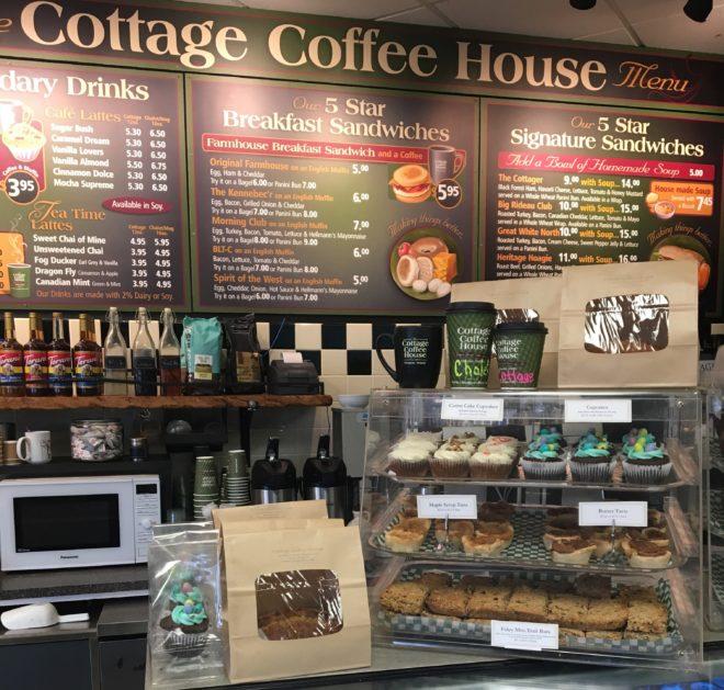 Cottage Coffe in Westport