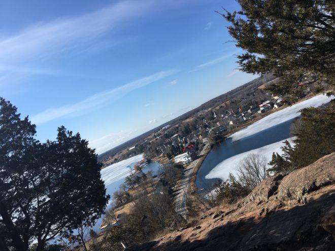 Spy Rock at Mt Foley
