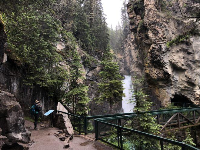 Lower Falls Johnston Canyon