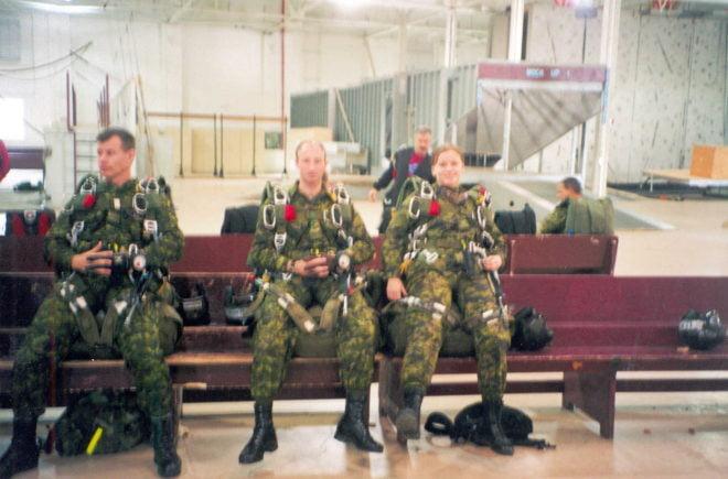 military freefall