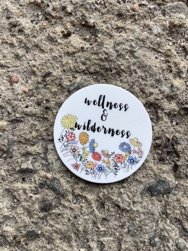 Wellness & Wilderness Wildflowers Sticker