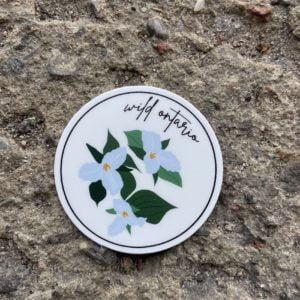 Wild Ontario (2″ Round Sticker)