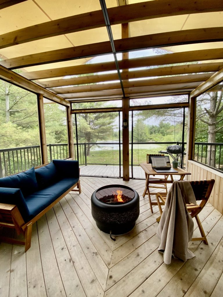 Read more about the article Pine Brae cabins near Perth, On – Guest Experience
