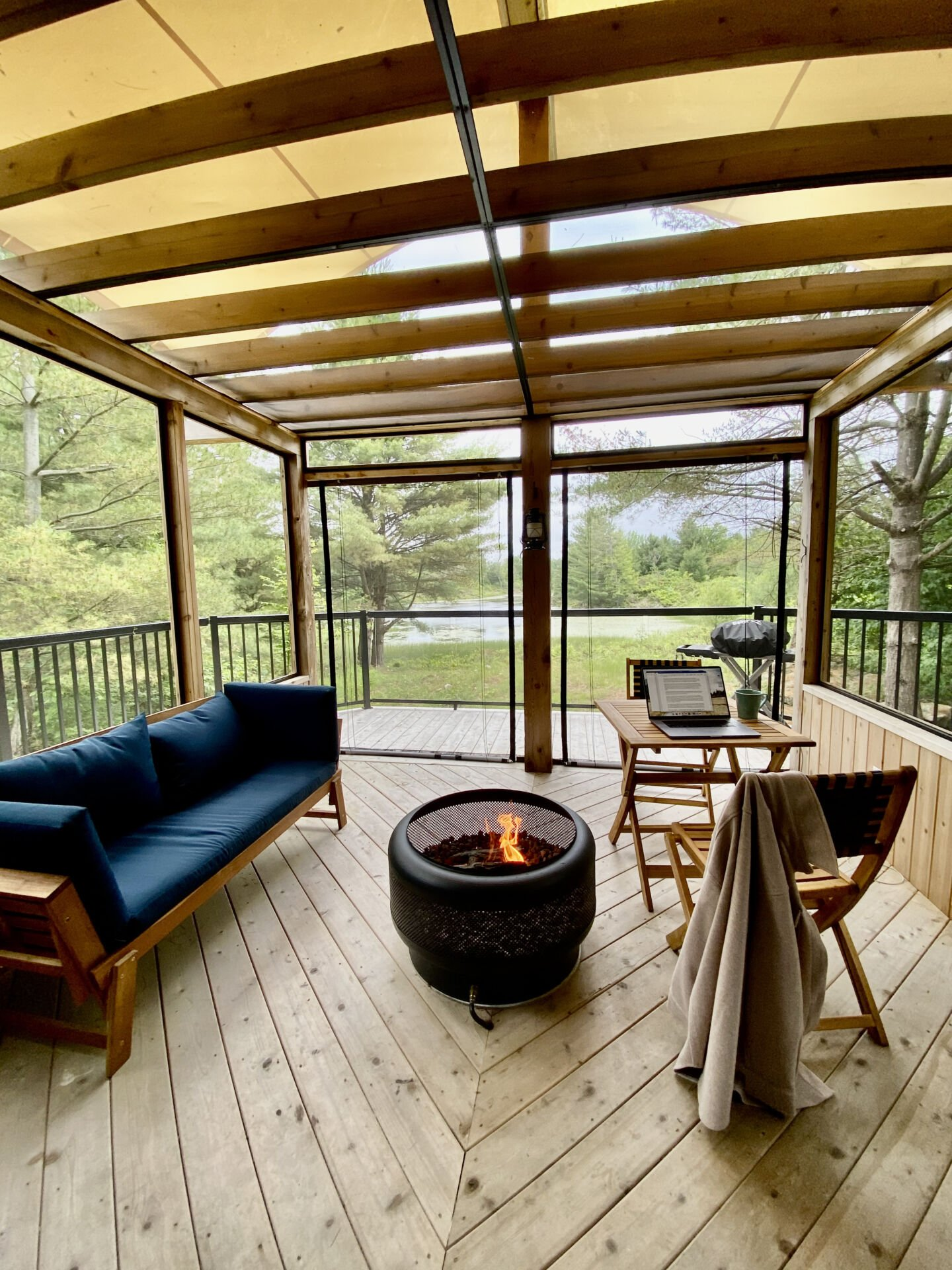 Pine Brae cabins near Perth, On – Guest Experience